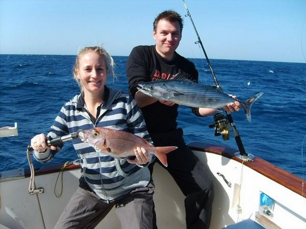 The last week of December it was very windy here in - Cavalier & Blue Marlin Sport Fishing Gran Canaria