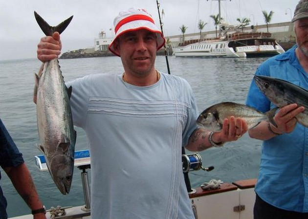 The last years, we caught in January a lot of nice - Cavalier & Blue Marlin Sport Fishing Gran Canaria