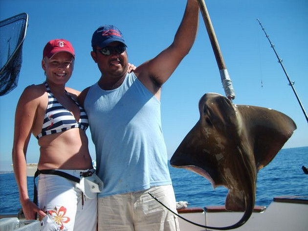 In the first week of February the catches were okay. - Cavalier & Blue Marlin Sport Fishing Gran Canaria