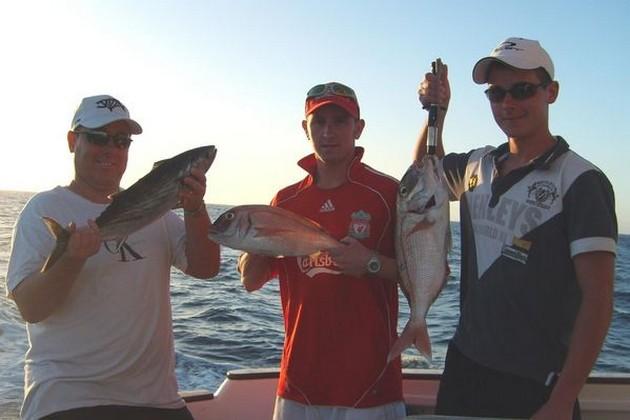 De vangsten bestonden de laatse week vooral uit mooie - Cavalier & Blue Marlin Sport Fishing Gran Canaria
