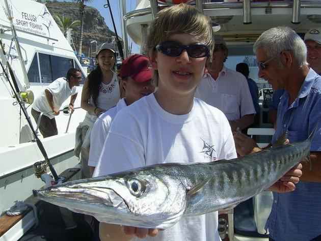 We mogen de laatste dagen absoluut niet mopperen over - Cavalier & Blue Marlin Sport Fishing Gran Canaria