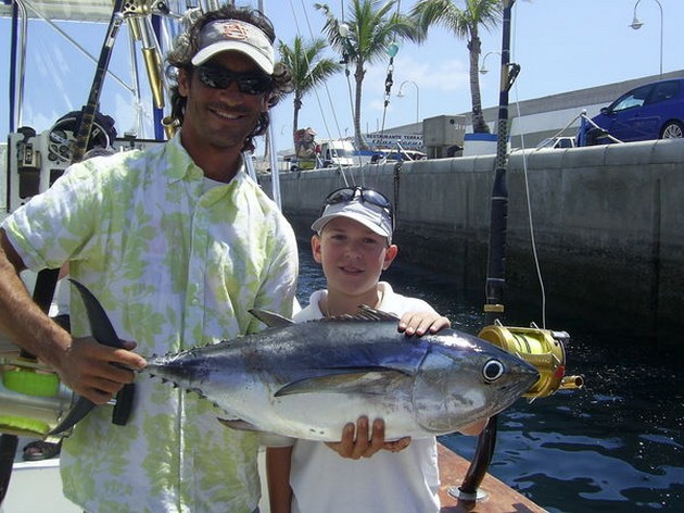 More fish photos and more fishing news on this website - Cavalier & Blue Marlin Sport Fishing Gran Canaria