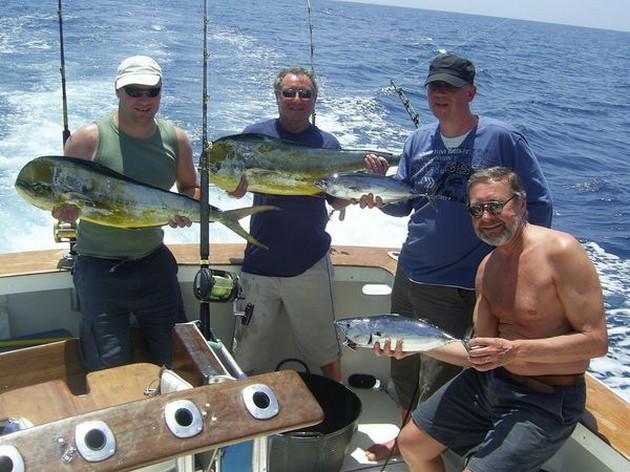 Het weer was vandaag weer als vanouds en met een zwakke - Cavalier & Blue Marlin Sport Fishing Gran Canaria
