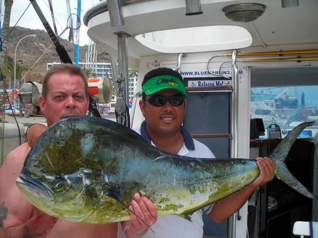 Puerto Rico - 14.00 uurRECTIFICATIEIn de publikatie - Cavalier & Blue Marlin Sport Fishing Gran Canaria