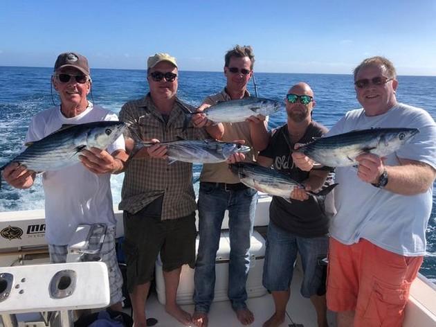 Goed gevist jongens - Cavalier & Blue Marlin Sport Fishing Gran Canaria