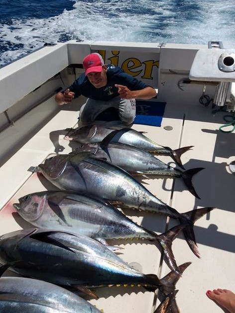 6 Big Eye Tuna - Cavalier & Blue Marlin Sport Fishing Gran Canaria