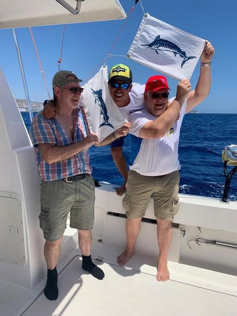 2/3 Blue Marlin - Cavalier & Blue Marlin Sport Fishing Gran Canaria