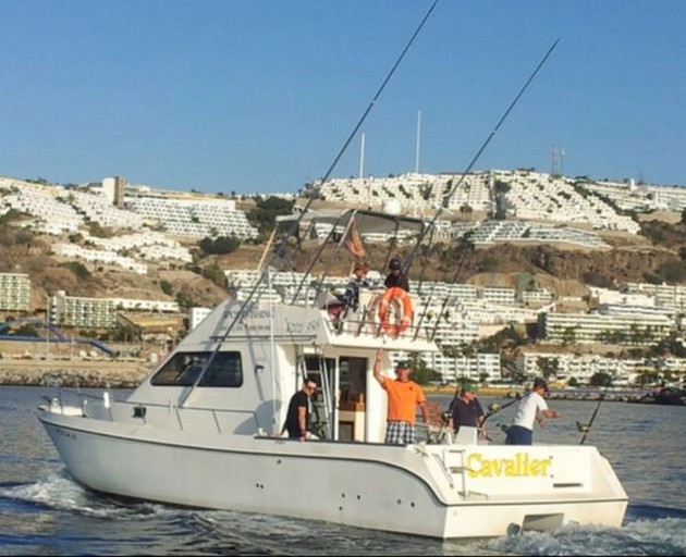 Lock down 26/4 - Cavalier & Blue Marlin Sport Fishing Gran Canaria