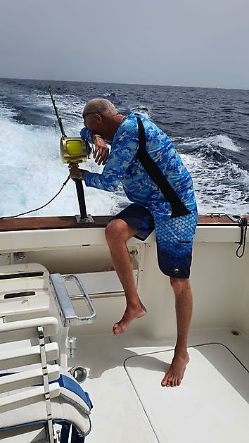 Teleurstelling voor Eric - Cavalier & Blue Marlin Sport Fishing Gran Canaria