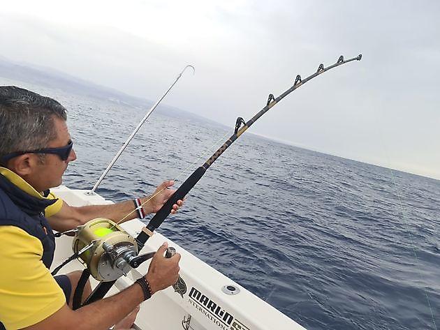 1-2 Big Eye Tuna - Cavalier & Blue Marlin Sport Fishing Gran Canaria