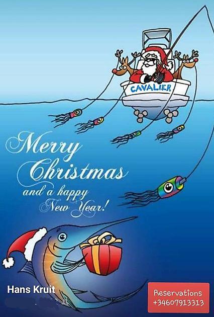 Vrolijk Kerstfeest - Cavalier & Blue Marlin Sport Fishing Gran Canaria
