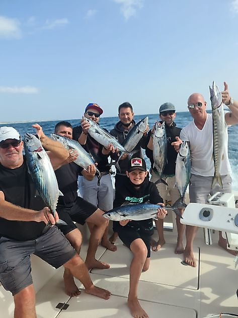 Congratulations guys, well done - Cavalier & Blue Marlin Sport Fishing Gran Canaria