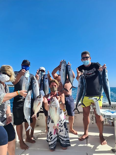 Sunny, little wind and lots of fish. - Cavalier & Blue Marlin Pesca sportiva Gran Canaria