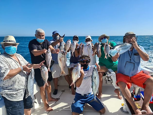 Lots of Spanish Seabreams - Cavalier & Blue Marlin Sport Fishing Gran Canaria