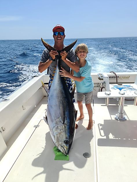 Big Eye Thunfisch 80 kg - Cavalier & Blue Marlin Sportfischen Gran Canaria