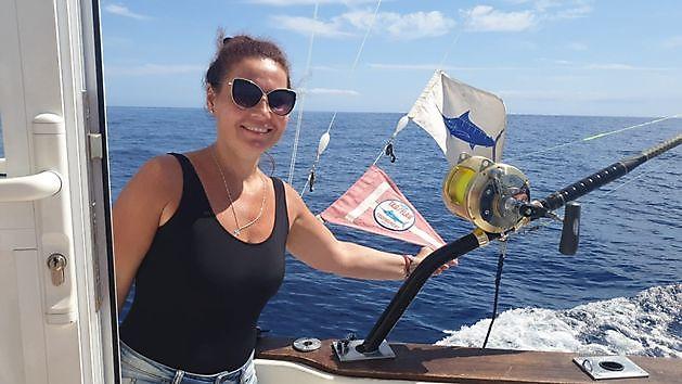 300 lbs Blauwe Marlijn - Cavalier & Blue Marlin Sport Fishing Gran Canaria
