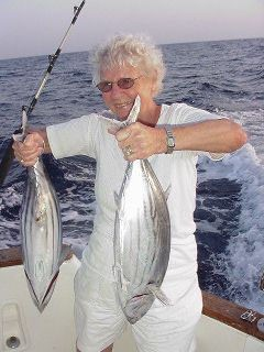 Skipjack Thunfisch Cavalier & Blue Marlin Sportfischen Gran Canaria