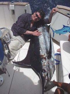 blauer Marlin Cavalier & Blue Marlin Sportfischen Gran Canaria