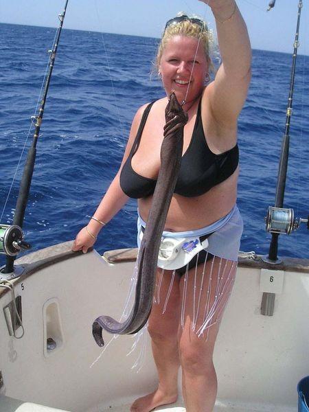 brown moray eel Cavalier & Blue Marlin Sport Fishing Gran Canaria