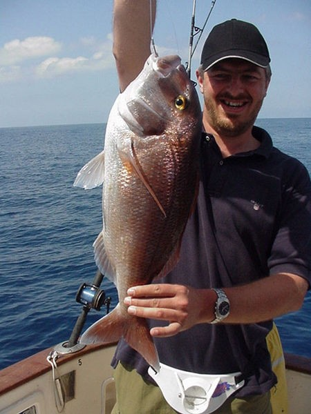 12/03 red snapper Cavalier & Blue Marlin Sport Fishing Gran Canaria