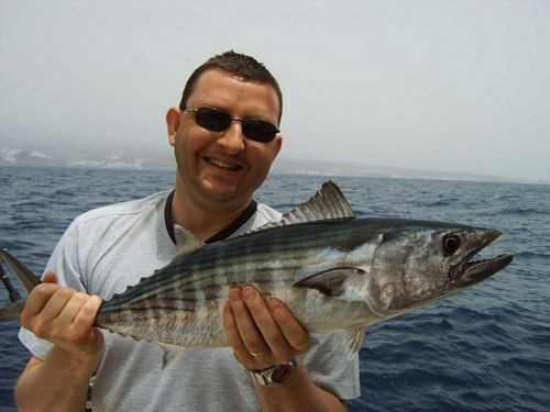 13/04 north atlantic bonito Cavalier & Blue Marlin Sport Fishing Gran Canaria