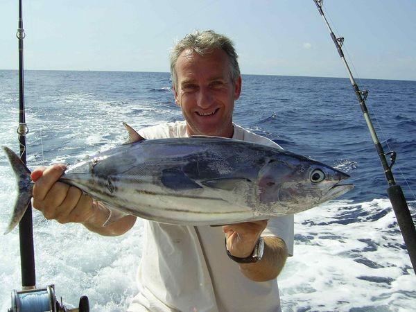 26/10 skipjack tuna Cavalier & Blue Marlin Sport Fishing Gran Canaria