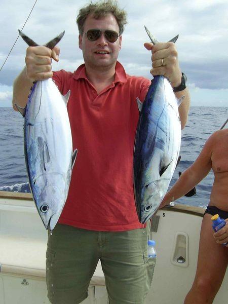 04/11 skipjack tuna Cavalier & Blue Marlin Sport Fishing Gran Canaria