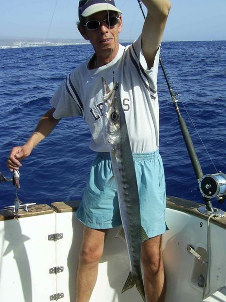 06/11 baracuda Cavalier & Blue Marlin Sport Fishing Gran Canaria