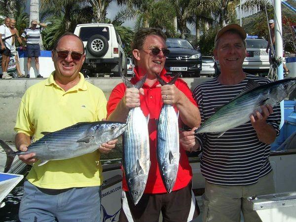 03/02 north atlantic bonito Cavalier & Blue Marlin Sport Fishing Gran Canaria