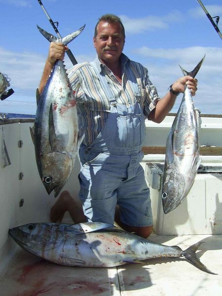 18/02 big eye tuna Cavalier & Blue Marlin Sport Fishing Gran Canaria