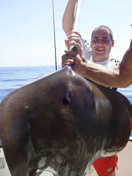 12/03 roughtail stingray Cavalier & Blue Marlin Sport Fishing Gran Canaria