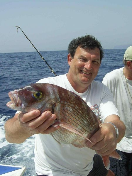 31/03 red snapper Cavalier & Blue Marlin Sport Fishing Gran Canaria