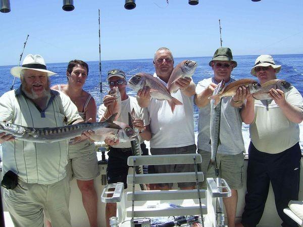 16/05 happy fishermen Cavalier & Blue Marlin Sport Fishing Gran Canaria