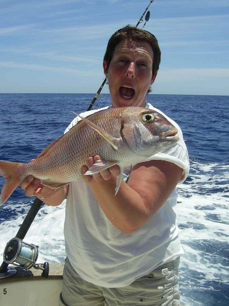 17/05 red snapper Cavalier & Blue Marlin Sport Fishing Gran Canaria