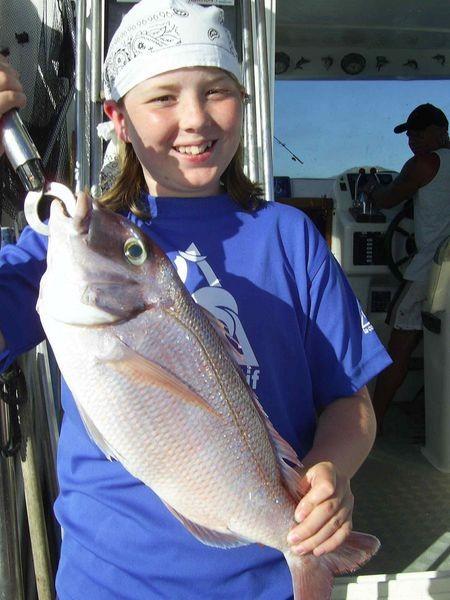 18/05 red snapper Cavalier & Blue Marlin Sport Fishing Gran Canaria