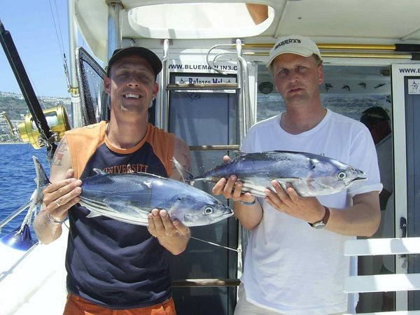 19/05 skipjack tuna Cavalier & Blue Marlin Sport Fishing Gran Canaria