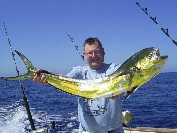 07/06 dorado Cavalier & Blue Marlin Sport Fishing Gran Canaria