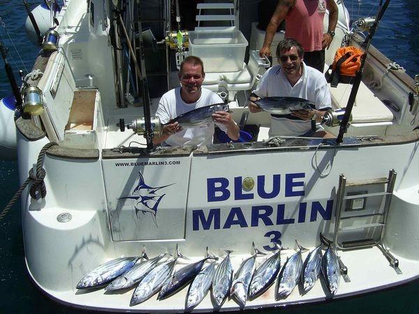 16/06 skipjack tuna Cavalier & Blue Marlin Sport Fishing Gran Canaria