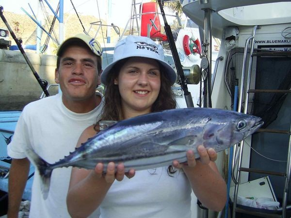 23/06 skipjack tuna Cavalier & Blue Marlin Sport Fishing Gran Canaria