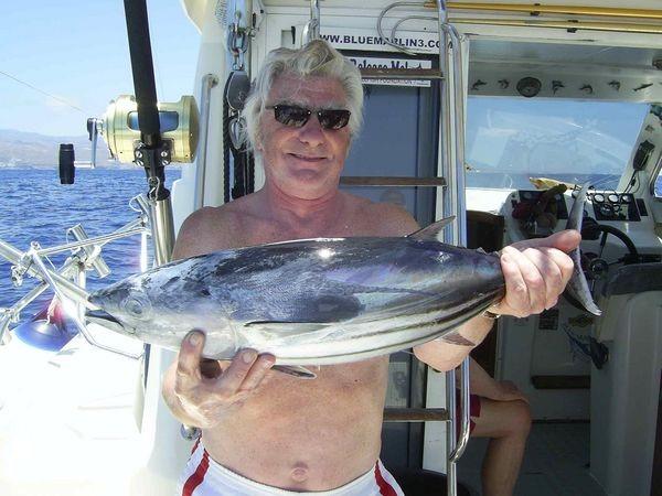 28/06 skipjack tuna Cavalier & Blue Marlin Sport Fishing Gran Canaria