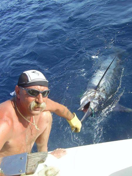 14/07 blue marlin Cavalier & Blue Marlin Sport Fishing Gran Canaria