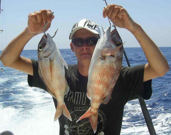 13/08 Red Snapper Cavalier & Blue Marlin Sportfischen Gran Canaria