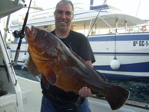 22/08 grouper Cavalier & Blue Marlin Sport Fishing Gran Canaria