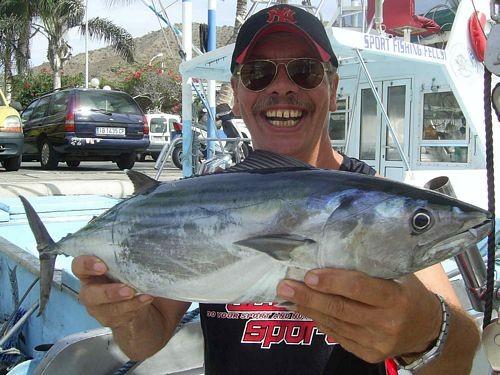 06/10 north atlantic bonito Cavalier & Blue Marlin Sport Fishing Gran Canaria