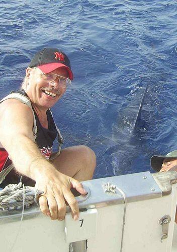08/10 blue marlin Cavalier & Blue Marlin Sport Fishing Gran Canaria