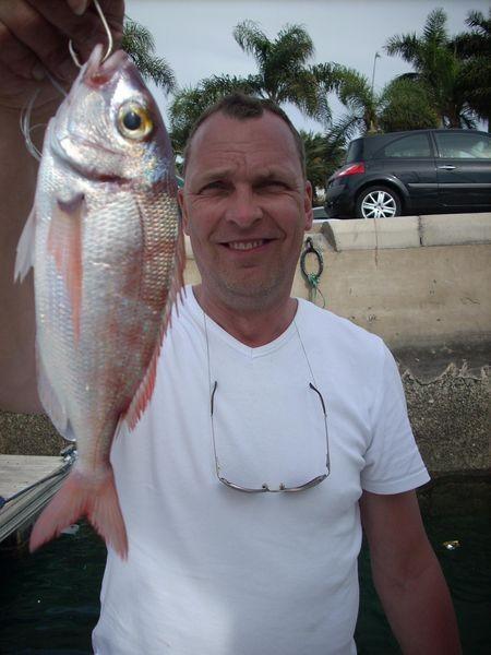 Pandora red Cavalier & Blue Marlin Sport Fishing Gran Canaria