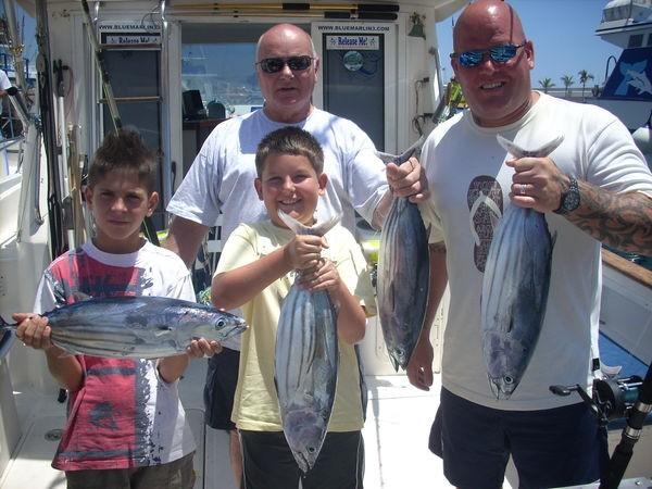 13/06 skipjack tuna Cavalier & Blue Marlin Sport Fishing Gran Canaria