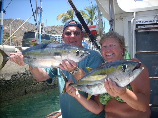 14/06 yellowfin tuna Cavalier & Blue Marlin Sport Fishing Gran Canaria