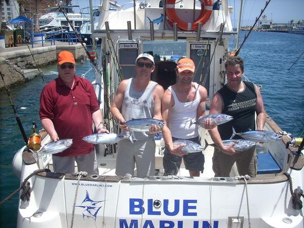 22/06 skipjack tuna Cavalier & Blue Marlin Sport Fishing Gran Canaria