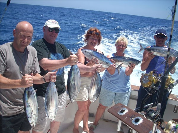24/06 happy fishermen Cavalier & Blue Marlin Sport Fishing Gran Canaria